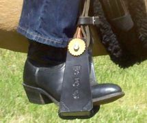 Boot in Free Ride - Western Safety Stirrup